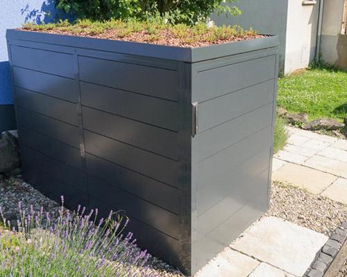 Fahrradgarage Fahrradbox Aus Aluminium Direkt Von Element13